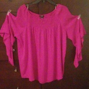 Alfani fushia blouse